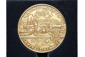 Kauno valdžiai pritrūko medalių
