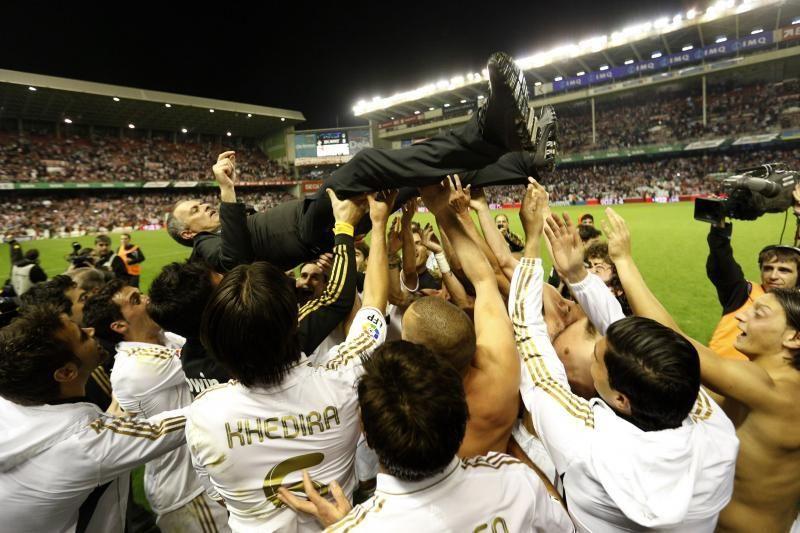 """Madrido """"Real"""" užsitikrino Ispanijos čempiono titulą"""