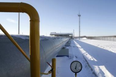 Dujų tranzitas vėl sustabdytas