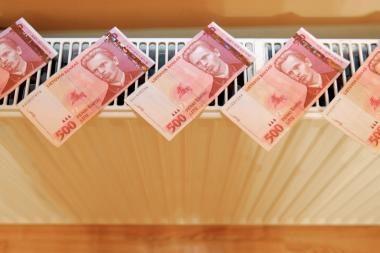 Klaipėdiečių skolos už šilumą mažėja