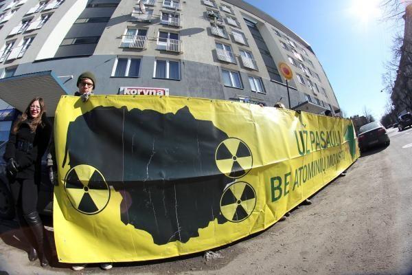 Europarlamentarai balsuos, ar siūlyti spausti Rusiją ir Baltarusiją dėl saugios AE statybos