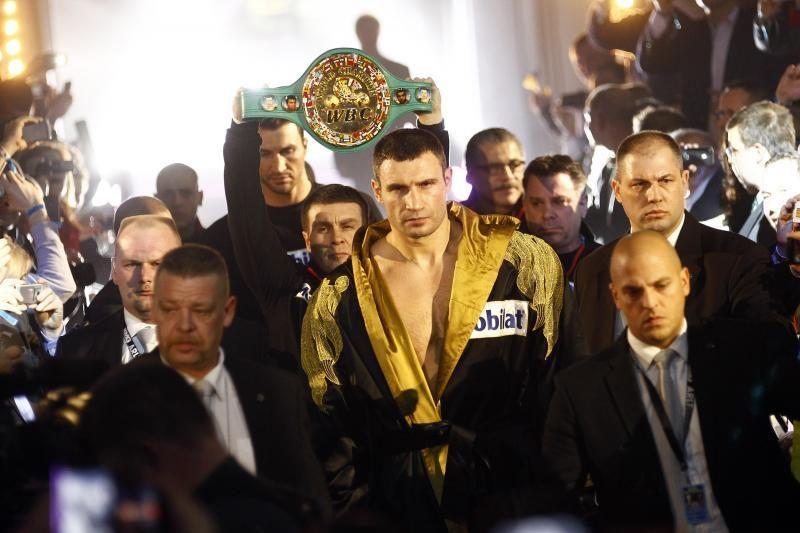 Vitalijus Kličko dešimtą kartą apgynė savo titulą
