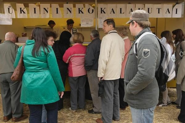 Atidarytas didysis ūkininkų turgus Ukmergės plente