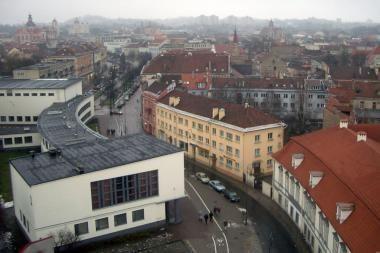 Vilnius rašytojų akimis: R.Gavelis (2)