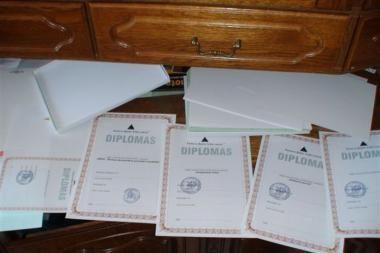 Sulaikytas mokymo įstaigų dokumentų klastotojas