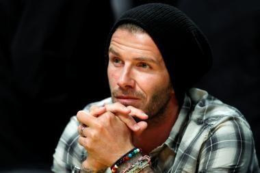 D.Beckhamas dėl traumos praleis visą sezoną JAV