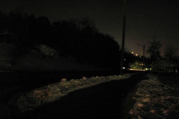 Naktį užgeso dalis Savanorių prospekto Vilniuje (papildyta)