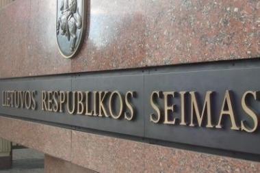 Seimas nenori taupyti