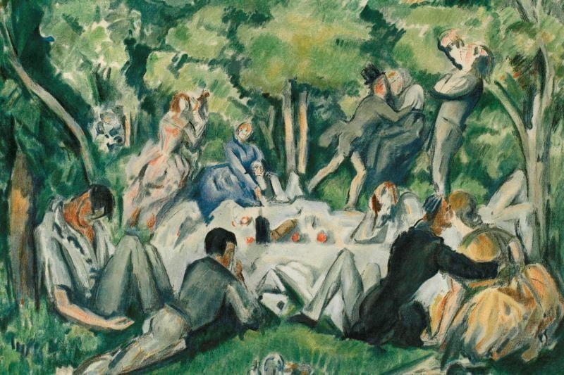 M. Žilinsko galerijoje – pusryčiai ant žolės su žymiais modernistais