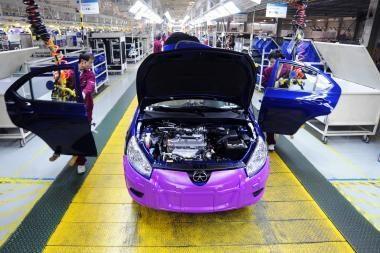 Kinijos automobilių rinka – lyderė pasaulyje