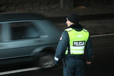 Pasitelkus vaizdo kameras Vilniuje sulaikyti įtariamieji