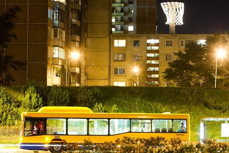 Ekologiški autobusai varžosi Vilniaus gatvėse