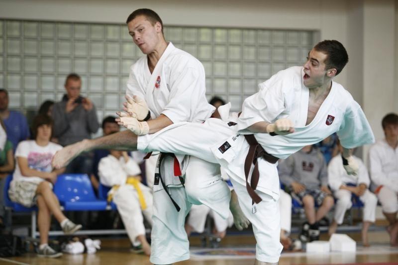 Į Europos čempionatą vyks penki Lietuvos tradicinio karate meistrai