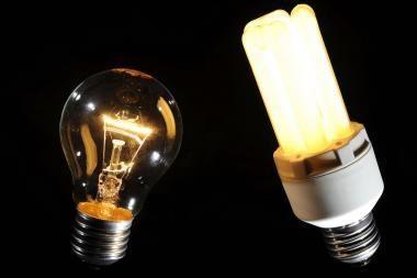 Kai kurios taupios elektros lemputės - nesaugios