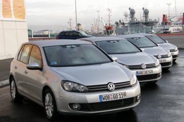 """Geriausiai perkamas Europoje - """"VW Golf"""