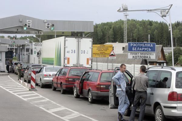 Pasienio poste su Kaliningrado sritimi - spūstys ir vaidai