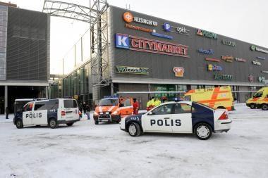 Tragedija Suomijoje: penkis žmones nušovęs vyras nusižudė (dar papildyta)