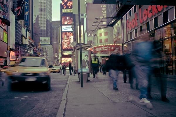 """""""Times"""" aikštėje Niujorke liko tik vienas benamis"""