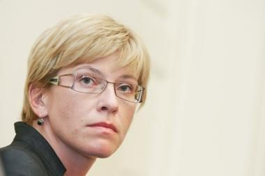 Ministrė: bankai neprisideda prie ūkio atgaivinimo
