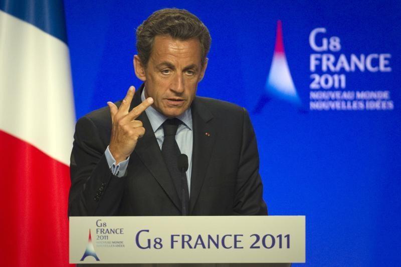 Laukiama N.Sarkozy ir A.Merkel susitikimo