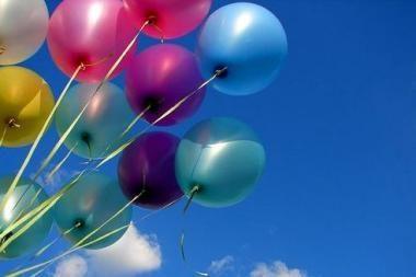 Rūkalių pamėgtas vietas žymės balionais