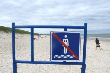 Klaipėdos moterų pliaže painiava tęsiasi