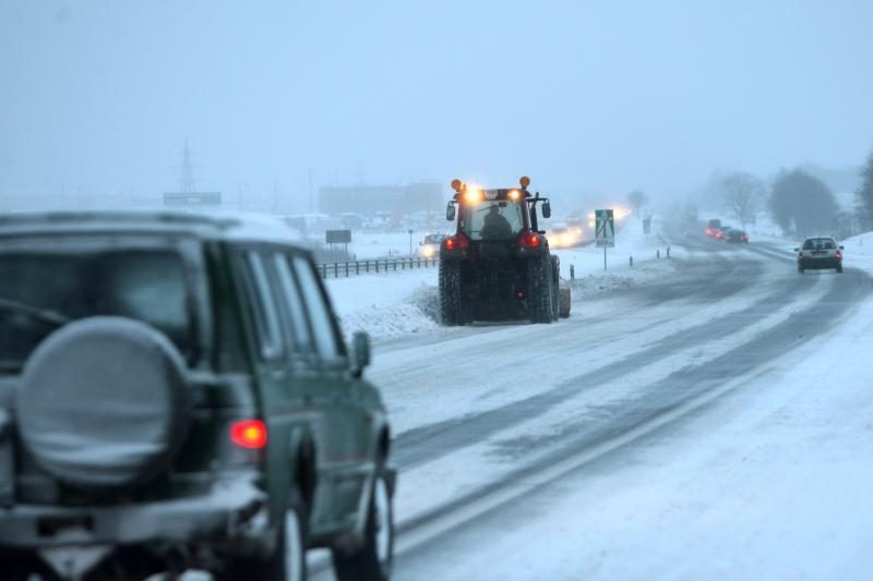 Naktį snigti neturėtų, eismo sąlygos neturėtų prastėti