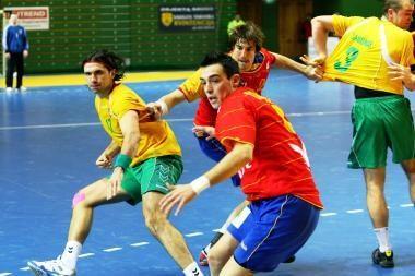 Lietuvos rankininkų laukia tituluotieji ispanai
