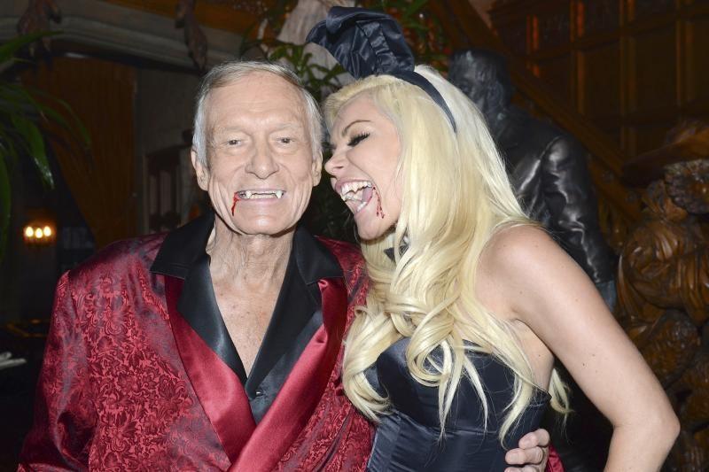 """""""Playboy"""" vadovas Hefneris tuoksis Naujųjų metų išvakarėse"""