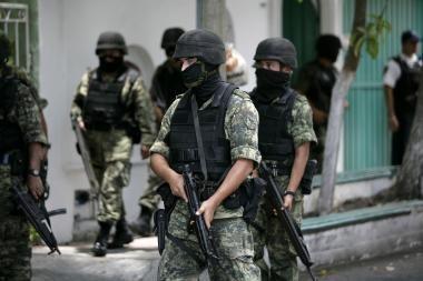 Kruvinasis birželis: Meksikoje siautėja gangsterių gaujos