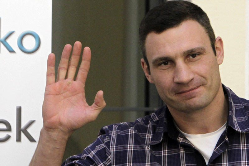 Per susirėmimus Kijeve galėjo nukentėti boksininkas V.Kličko
