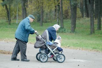 Taline vyko protestas dėl pensinio amžiaus ilginimo