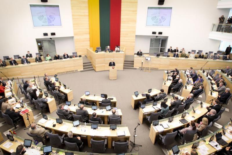 Seimas patvirtino Suskystintų dujų terminalo įstatymą