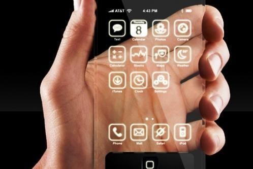 """""""Apple"""" kompanija patentuoja stiklinį """"iPhone"""""""