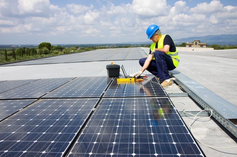 Masinei saulės elektrinių plėtrai - apynasris