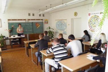 Vilniaus ir Maskvos mokytojai ir moksleiviai dalinsis patirtimi