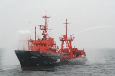 Baltijos jūroje - teršimo incidentų likvidavimo pratybos