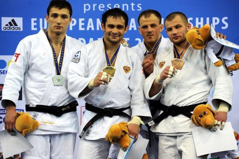 K. Bauža iškovojo Europos dziudo pirmenybių bronzą