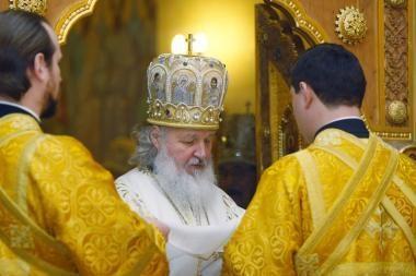 Patriarchas Kirilas nori nuskristi į kosmosą