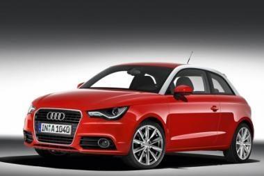 """Į Ženevą – kompaktiškasis """"Audi A1"""""""