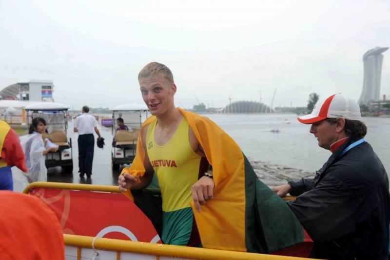 R.Maščinskas ir S.Ritter sėkmingai pradėjo olimpiadą