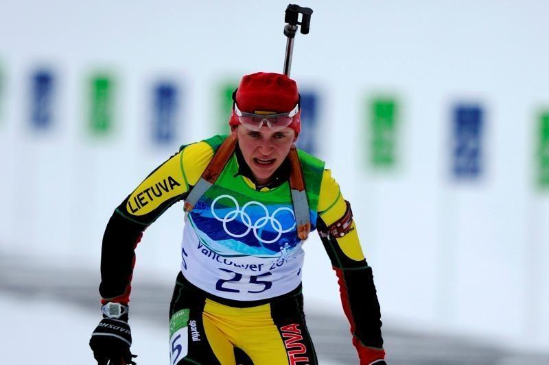 D.Rasimovičiūtė pasaulio biatlono čempionate Vokietijoje finišavo 50-a