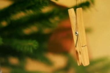 Papuoštos alternatyvios Kalėdų eglutės
