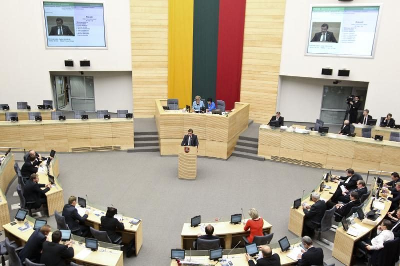 Verslo interesų turi ketvirtadalis Seimo narių