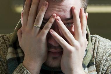 Dirbantys vilniečiai klimpsta į depresijos liūną
