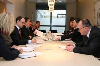 Vilniuje vyko Lietuvos ir Baltarusijos diplomatų konsultacijos