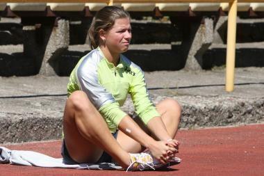 Sprinterė L.Grinčikaitė nepateko į Europos čempionato finalą
