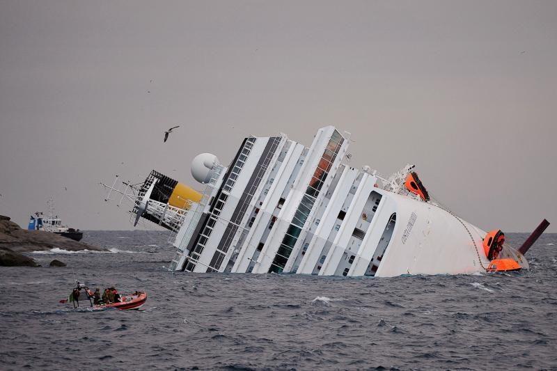 Per laivų katastrofas daugiau galimybių išsigelbėti turi vyrai
