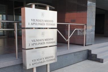 Dėl lėšų trūkumo Vilniaus 1-asis teismas trumpina darbo savaitę