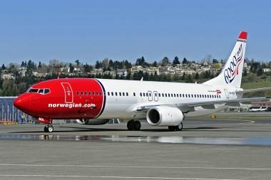Norvegų oro linijų bendrovė grįžta į Palangą